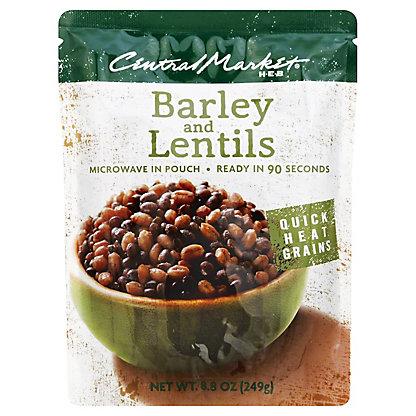 Central Market Quick Heat Barley and Lentils, 8.8 oz