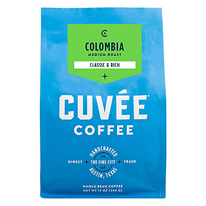 Cuvee Coffee Colombia Las Mingas,12 oz