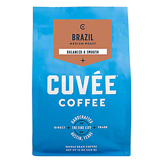 Cuvee Coffee Brazil Fazenda Pantano,12 oz