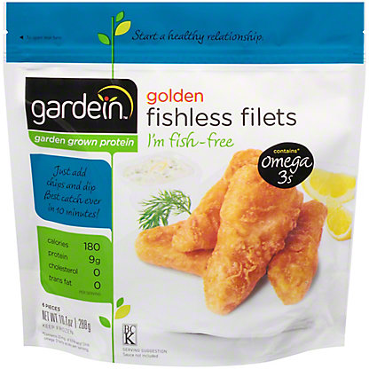 Gardein Golden Fishless Filet,6 ct