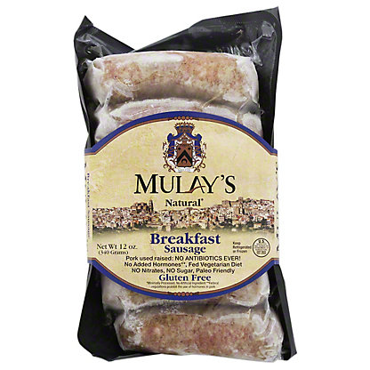 Mulays Natural Breakfast Sausage Links, 12 oz