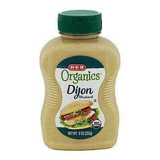 H-E-B Organics Dijon Mustard,9 OZ