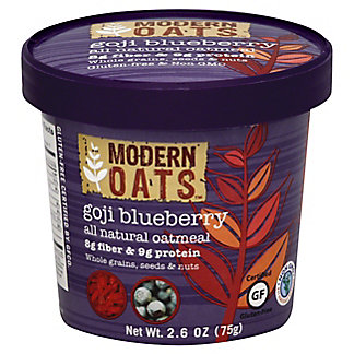 Modern Oats Goji Blueberry Oatmeal,2.6 OZ