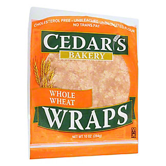 Cedar's Whole Wheat Wraps,10OZ
