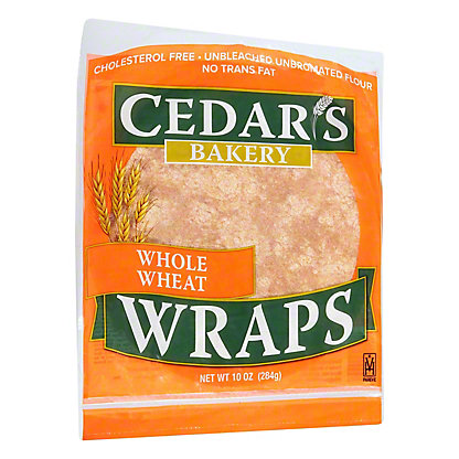 Cedar's Whole Wheat Wraps,10OZ