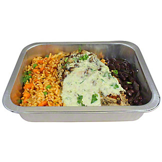 Central Market Chipotle Grilled Chicken With Black Beans Dinner For One, ea