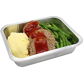MEATLOAF WITH MASHED POT D41