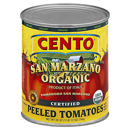 Cento San Marzano Organic Peeled Tomato, 28 oz