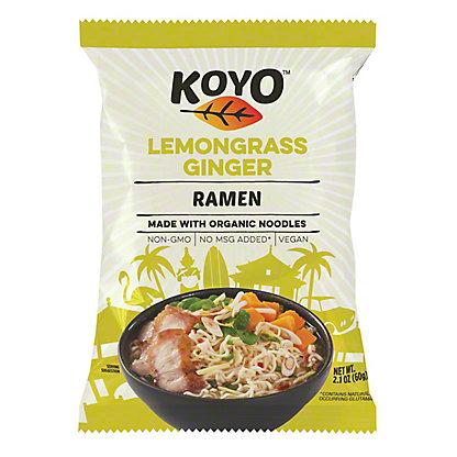 Koyo Lemongrass Ginger Ramen,2.1OZ