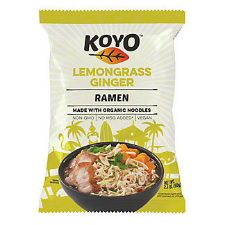 Koyo Lemongrass Ginger Ramen,2.1OZ