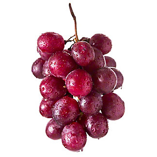 Fresh Organic Red Seeded Grapes