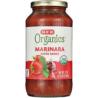 H-E-B Organics Marinara Pasta Sauce,25 OZ