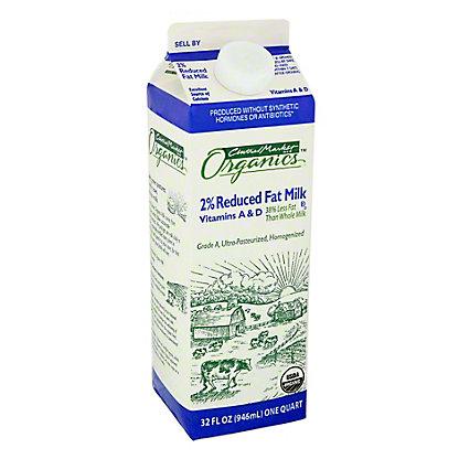 Central Market Organics 2% Reduced Fat Milk,32 oz