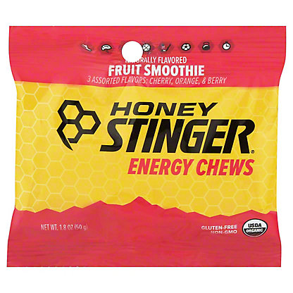 Honey Stinger Fruit Smoothie Energy Chew,1.8OZ