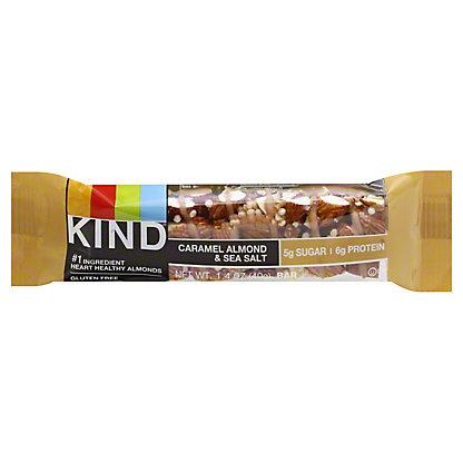 Kind Nuts & Spices Caramel Almond & Sea Salt Bar,1.4 oz