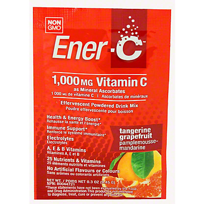 Ener C Tangerine Grapefruit Packet, 0.3OZ