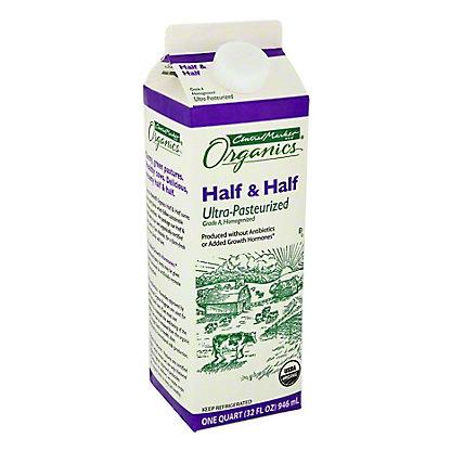 Central Market Organic Half & Half, 32 oz