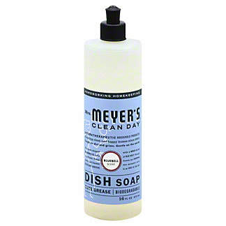 Mrs. Meyer's Clean Day Bluebell Liquid Dish Soap,16 OZ