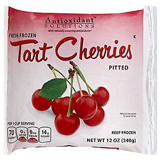 Antioxidant Solutions Tart Cherries,12 oz