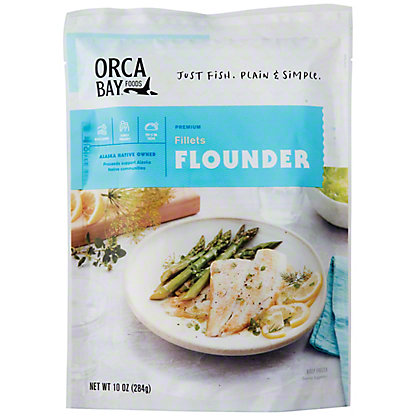Orca Bay Wild Caught Flounder,10 oz