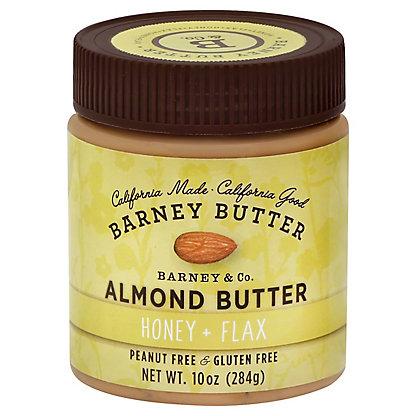 Barney Butter Honey Flax Almond Butter, 10 oz