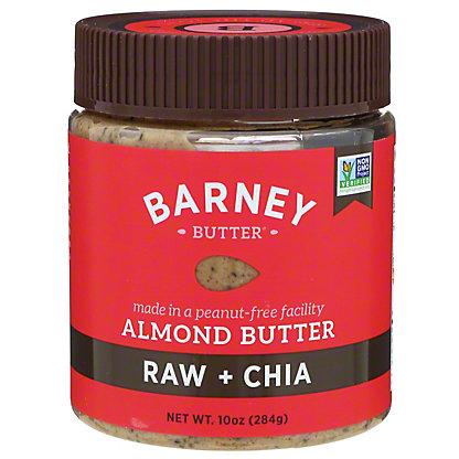 Barney Butter Raw + Chia Almond Butter,10 OZ