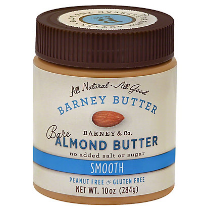 Barney Butter Bare Smooth Almond Butter,10 oz