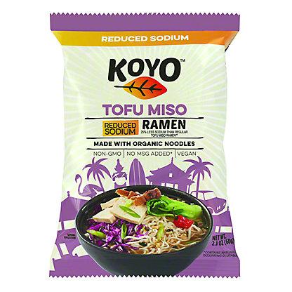 Koyo Reduced Sodium Tofu Miso Ramen,2.1 oz