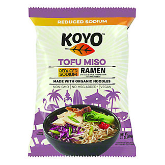 Koyo Reduced Sodium Tofu Miso Ramen,2.1 oz