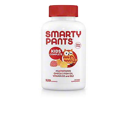 Smarty Pants Kids Complete Multivitamin, 120 ct