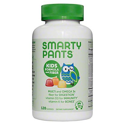 SmartyPants Kids Complete and Fiber Multivitamin, 120 ct