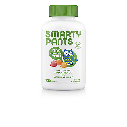 SmartyPants Kids Complete and Fiber Multivitamin, 120 ct
