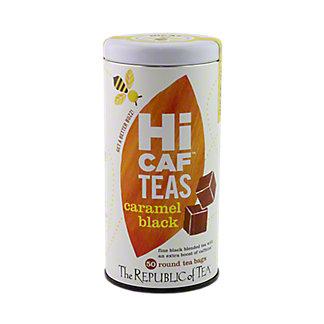 The Republic of Tea Hi Caf Caramel Black Tea, 50 CT