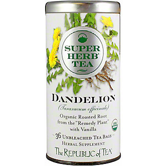 The Republic of Tea Dandelion Superherb Tea, 36 ct
