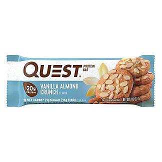 Quest Bar Vanilla Almond Crunch Bar,2.12 OZ