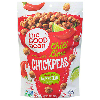 The Good Bean Smoked Chili Lime Chickpeas,6 OZ