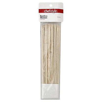 """chefstyle 10"""" Bamboo Skewers,EACH"""