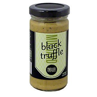 KL Keller Black Truffle Mustard, 6 OZ