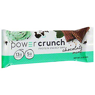 Bioengineered Nutrition Research Group Original Chocolate Mint Power Crunch Protein Energy Bar,1.4 OZ