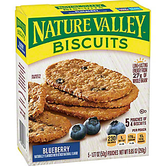 Nature Valley Breakfast Biscuits Blueberry,5 CT