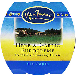 Life In Provence Herb & Garlic Eurocreme, 8OZ
