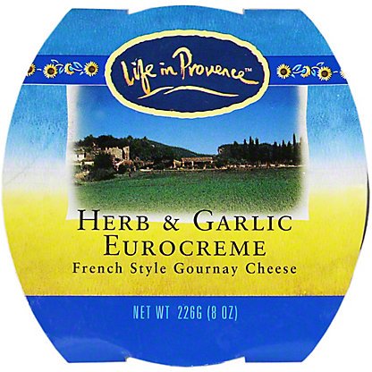 Life In Provence Herb & Garlic Eurocreme, 8OZ