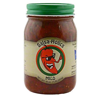 Salsa-Holics Mild Salsa, 16 OZ