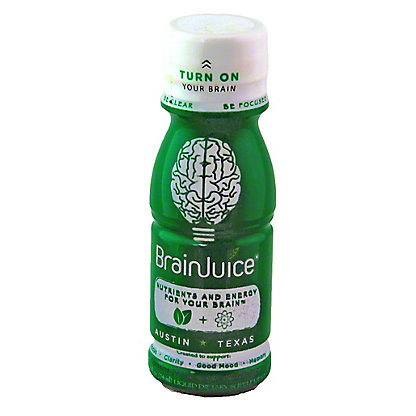 BrainJuice Brain Health Supplement Shot, 2.5 OZ