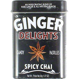 Ginger Zingers Spicy Chai,1.07OZ