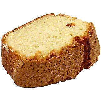 Central Market Sourcream Pound Cake Slice, ea