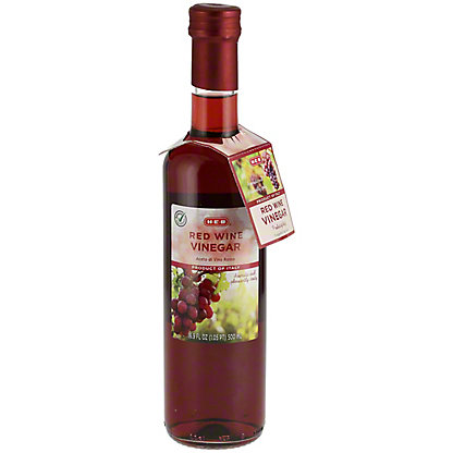H-E-B Red Wine Vinegar,16.9 OZ