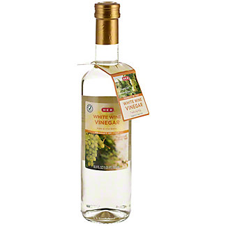 H-E-B White Wine Vinegar,16.9 OZ