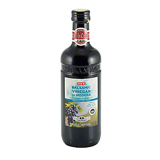 H-E-B Balsamic Vinegar of Modena, 2 Leaf, 16.9 oz