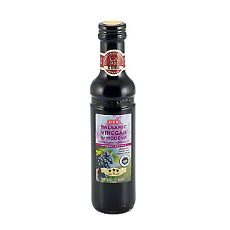 H-E-B Balsamic Vinegar of Modena, 3 Leaf,8.45 OZ